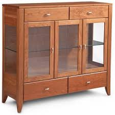 buffet cabinet with glass doors simply amish justine dining cabinet w plain glass doors becker