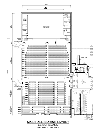 Concert Hall Floor Plan Events In Salthill Leisureland Galway