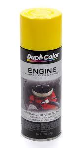 dupli color krylon de1635 ford semi gloss black engine paint 6 95