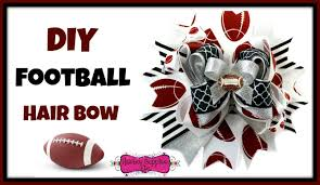 hairbow supplies diy football hair bow hairbow supplies etc