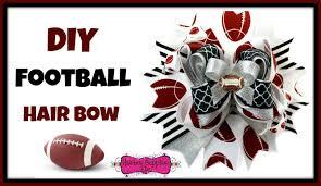 hair bow supplies diy football hair bow hairbow supplies etc