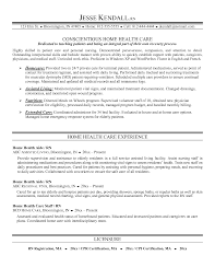Caregiver Resume Template Medical Resume Example Professional Profile On Resume
