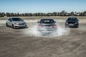 lexus vs mercedes sedan audi rs3 v bmw m2 v mercedes amg a45 comparison track test