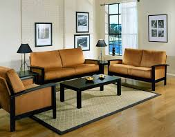 simple living room furniture simple living room wood furniture design with wall mounted arts