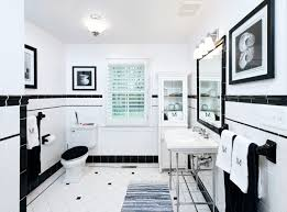 Classic White Bathroom Design And Ideas Classic Black And White Bathroom Renovation Design Ideas Amepac