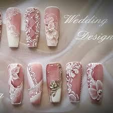 white flowers nail art nail art pinterest white flowers