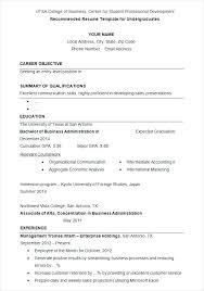undergraduate curriculum vitae pdf sles undergraduate student resume sle medical student sle 7