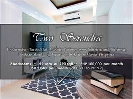 apartment fully furnished apartment for rent in manila