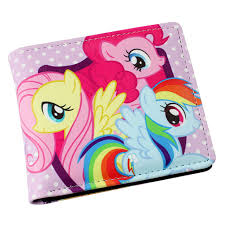 my pony purse my pony brony wallet youth personality animated