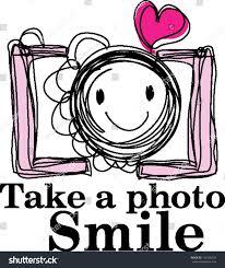 doodle sketch camera happy face stock vector 138109034 shutterstock