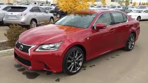 lexus sports car gs lexus certified pre owned red 2014 gs 350 awd f sport package