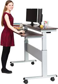 Electric Stand Up Desk Best Full Size Adjustable Height Work Tables Strong And Sturdy