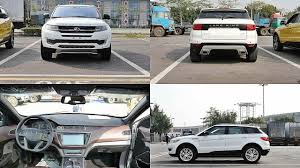 land wind landwind x7 duplicate of range rover evoque from chinese youtube