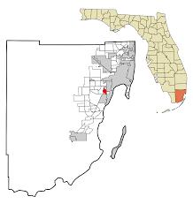 Miami Neighborhood Map by South Miami Florida Wikipedia