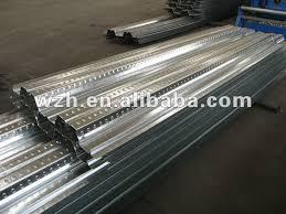 yx76 344 688 0 8mm thick concrete galvanized metal floor deck