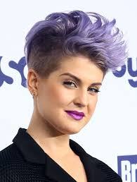 female celebrity hairstyles kelly osbourne half up half down