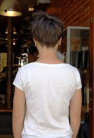 pictures of back view of trendy short haircuts