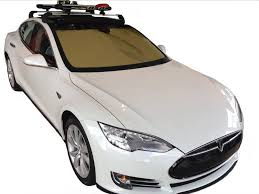 tesla model s tesla model s heatshield u2013 custom gold series sunshade