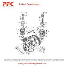 04 01 bare compressor for 71t2 ir 71t2 parts