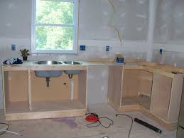 diy projects face frame base kitchen cabinet carcass woodworking