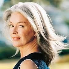 Frisuren Lange Graue Haare by 42 Besten Hair Bilder Auf Frisuren Graue Haare Und Makeup