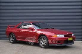 nissan skyline insurance group sold nissan skyline r32 gt r coupe 1 of 100 australian delivered