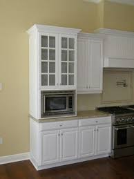 kitchen cabinet with microwave shelf fpudining