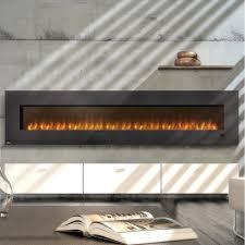 napoleon slimline 100 inch wall mount electric fireplace efl100