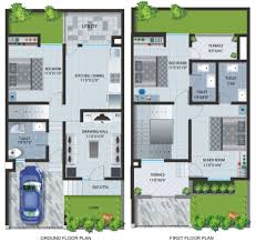 Floor Plan With Garage by Architecture Fabulous Design For Ground Floor Plan With Car Port