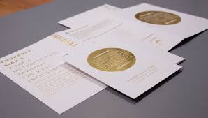folded invitation print invitation