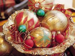 color glass ornaments southern living