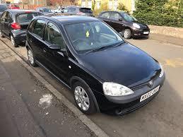 opel corsa 2002 vauxhall corsa c 1 2 sxi petrol 2002 5 doors black in gilmerton