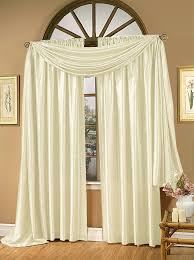 Chocolate Curtains With Valance Whisper Crushed Satin Curtain Panel U2013 Chocolate U2013 Renaissance