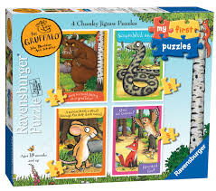 the gruffalo jigsaw puzzle free delivery from the yorkshire