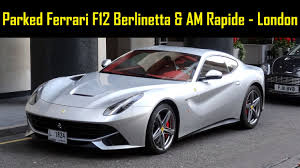 Ferrari F12 Matte Grey - grey ferrari f12 berlinetta u0026 am rapide combo in london static