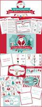 night before christmas box printables lunch box notes nice list