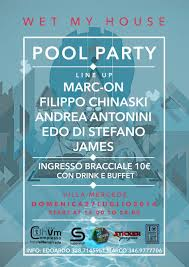 ra wet my house pool party at hotel villa mercede rome 2014 line up