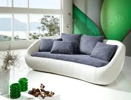 ub design canapé canape cuir arrondi canapac ub design secret island gris blanc 3pl