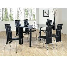 Round White Table And Chairs For Kitchen by Dining Table Round Glass Dining Table And 4 White Chairs Round