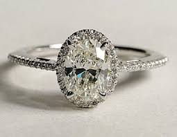 vintage oval engagement rings 1 32ct g si1 oval engagement ring certified 18kt