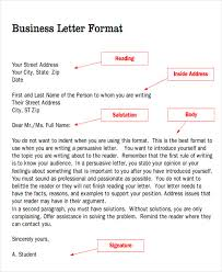 Business Letter Generic Recipient Sample Business Letter Salutation 5 Examples In Word Pdf