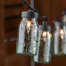 small lights for crafts small glass mason jar light covers lighting primitive decor
