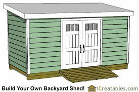 Diy Lean To Storage Shed Plans by 8x16 Storage Shed Plans Easy To Build Designs How To Build A Shed