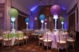 balloon arrangements nj lavender lime green turquoise themed bat mitzvah with