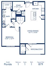 7 X 10 Bathroom Floor Plans by Studio 1 U0026 2 Bedroom Apartments In Lone Tree Co Camden Lincoln