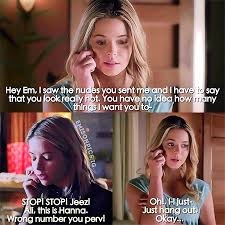 Pll Meme - pretty little liars team emison memes emily alison fanfiction