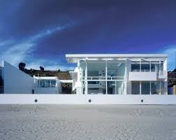 Beach House Bude by Southern California Beach House U2013 Richard Meier U0026 Partners Architects