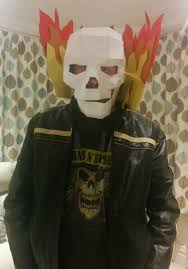 ghost rider mask costume nick mason on twitter