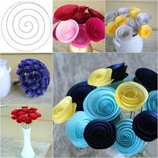 Make Flower With Paper - best 25 paper flower bouquets ideas on pinterest paper bouquet