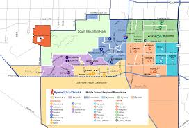 Phoenix Road Map by Kyrene Elementary District 2017 2018 Boundary Map For